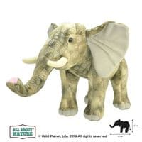 All About Nature Elephant - Wild Planet Stuffed Toy